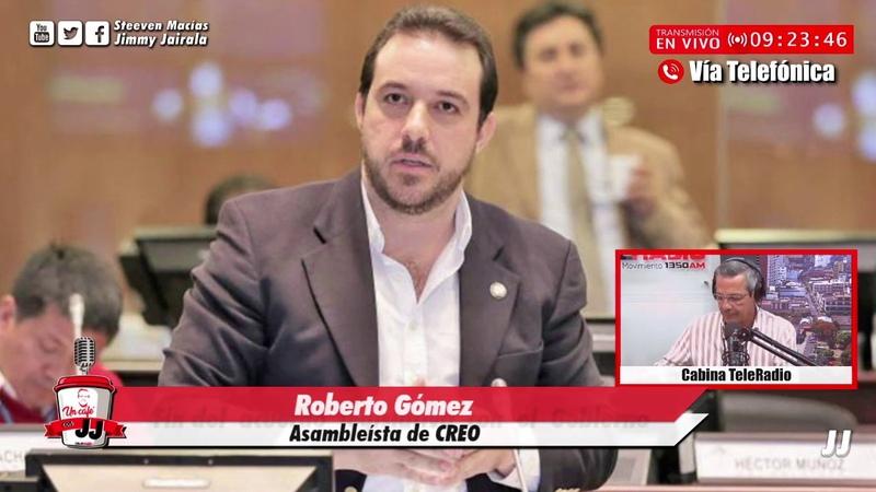 Roberto Gómez Yo le dije a Pachala que no se puede confiar en Alianza PAIS