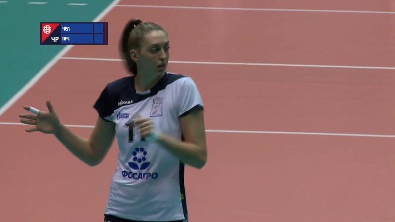 Proton Saratov vs Dinamo Metar l 2019 20 Russian Women Volleyball Super League l
