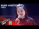 Lhea Llego - Basang-Basa Sa Ulan | Blind Auditions | The Voice Kids Philippines Season 4 2019