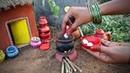 Miniature Rasmalai | Rasmalai Recipe | Miniature Cooking 37 | Mini Foodkey