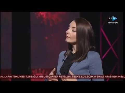 XİN rəsmisi Leyla Abdullayeva Evə gedirəm portalını təqdim edir