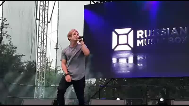 """Выступление Дани на Летний Live"""" с песней - Напрасно."""