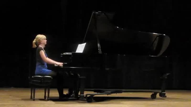 Kelly Moran - Live (Philip Glass - Etude VI)