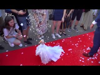 Свадьба гусей в Минске