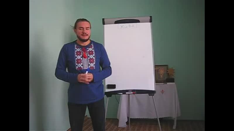 Родосвет Молдова. Лекция из Семинара по Живе 1 ступени (часть 1) о сути болезней