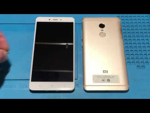 Xiaomi Redmi Note 4 не включается Замена EMMC флеш