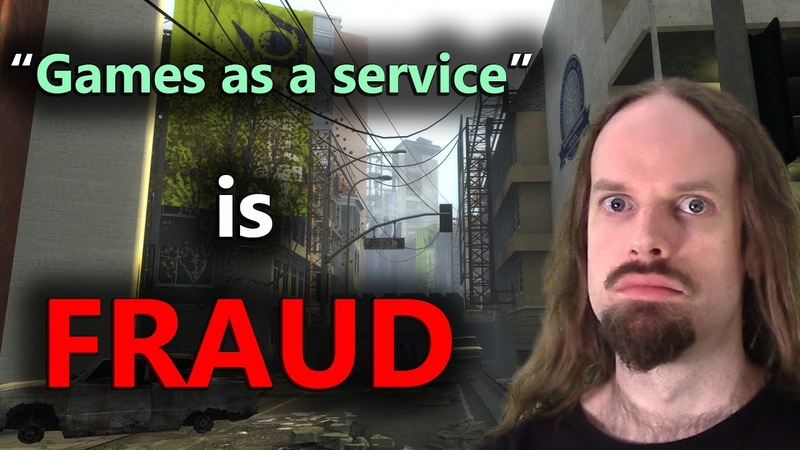 Games as a service is fraud.