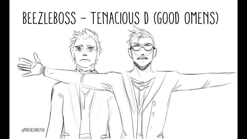 Beezleboss Good Omens Animatic Tenacious D