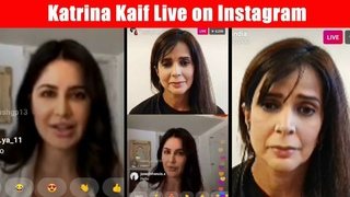 Katrina Kaif LIVE Instagram Chat With BFF - Talk About Her Careear