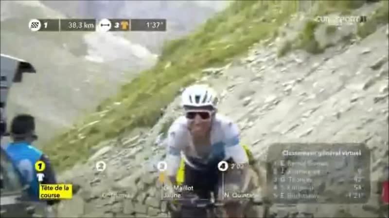 (Eu)TDF 2019 Stage 19 Saint-Jean-de-Maurienne - Tignes 123 Km 26-jul Egan Berna