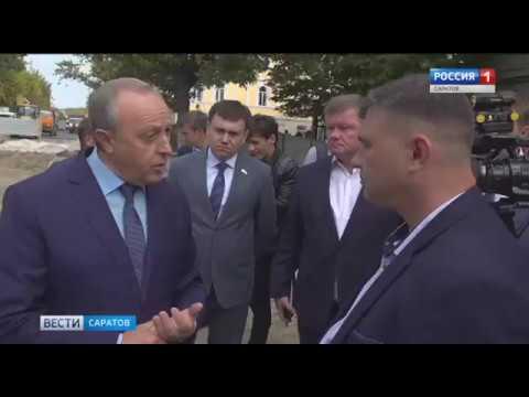 Губернатор остался недоволен темпами работ на проспекте Кирова