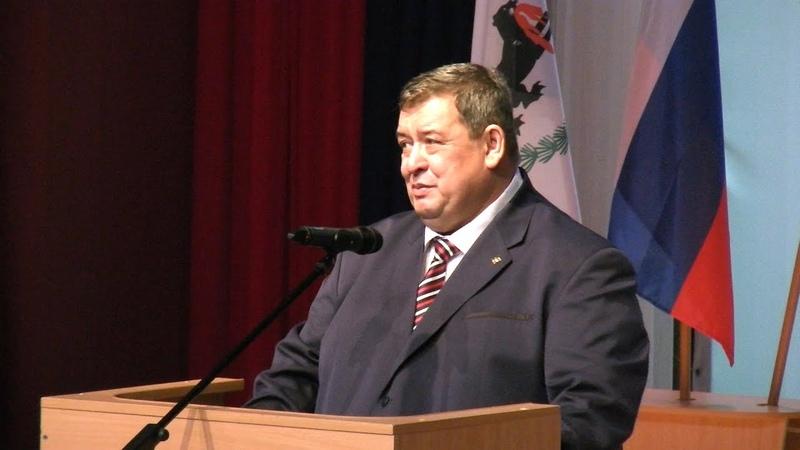 Церемония вступления в должность мэра города Олега Боровского