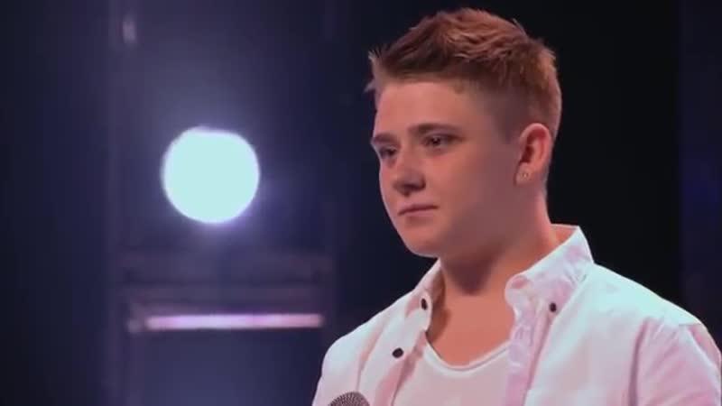 Шоу The X Factor США Николас Макдональд с песней Тысячу лет Nicholas McDonald A Thousand Years