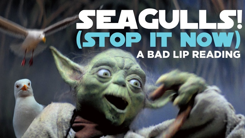 SEAGULLS! (Stop It Now) -- A Bad Lip Reading of The Empire Strikes Back