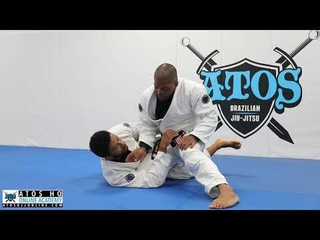 The Ultimate Cross Choke From Knee Cut - Andre Galvao