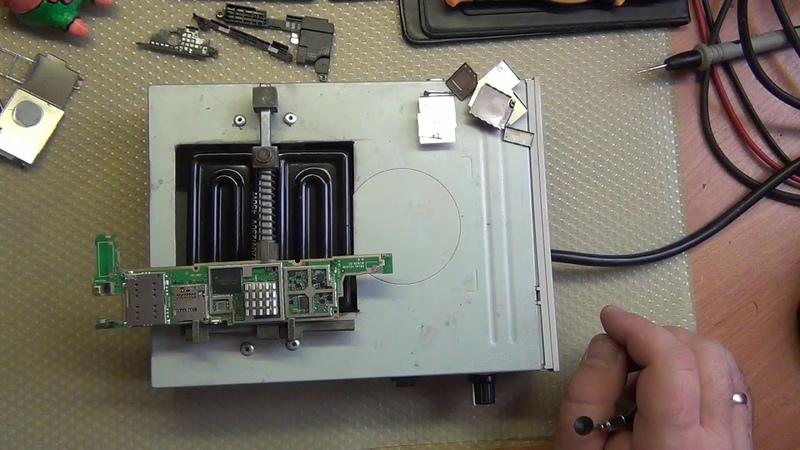 Sony Xperia M5 Dual E5633 неудачный ремонт замена EMMC