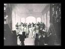 Alice Guy tourne une phonoscène sur la théâtre de pose des Buttes Chaumont 1905 Alice Guy