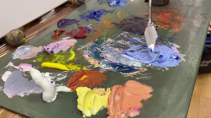 Инструкции к живописи алла прима На занятии курсов Импрессионист МК