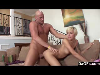 Dagfs emma mae bends-over and gets a massive dick up her s