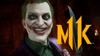 Mortal Kombat 11 Kombat Pack - The Joker Official Gameplay Trailer