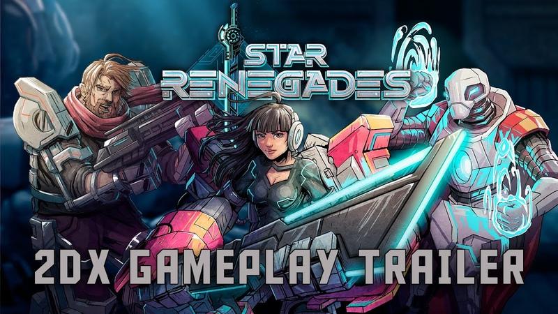 Star Renegades - 2DX Gameplay Trailer - Gamescom 2019