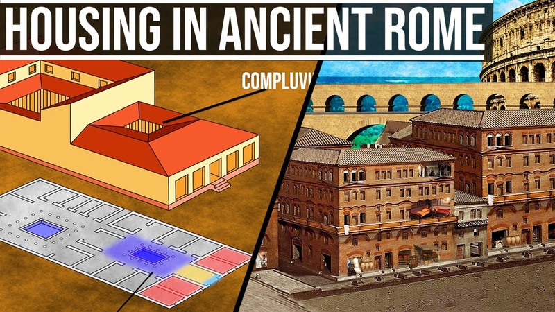 Housing and Houses in Ancient Rome - Domus, Insula, Villa