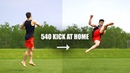 Learn 540 Kick Fast by Turning a 360 Into a Tricking Kick