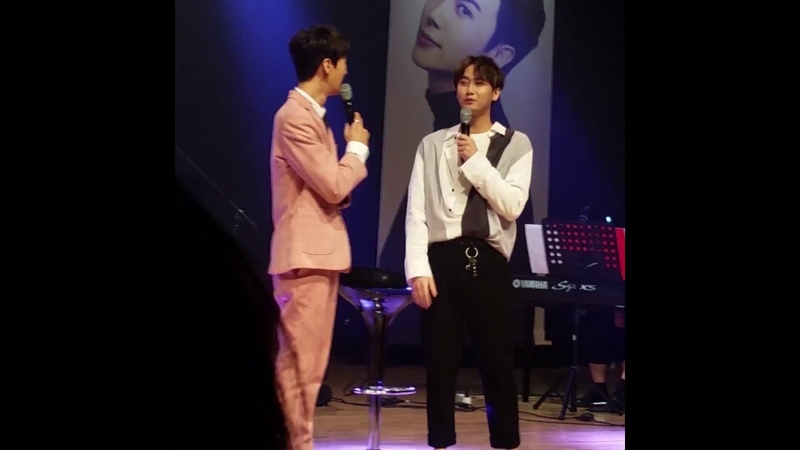 180407 Park Jung Min with Heo Young Saeng @ 31st Spring