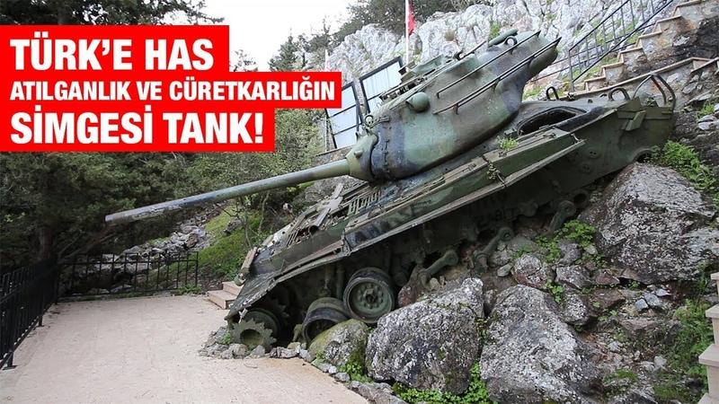KIBRIS'IN ÖTEKİ YÜZÜ 2 BÖLÜM Beşparmak Dağları'nda Bir Tank