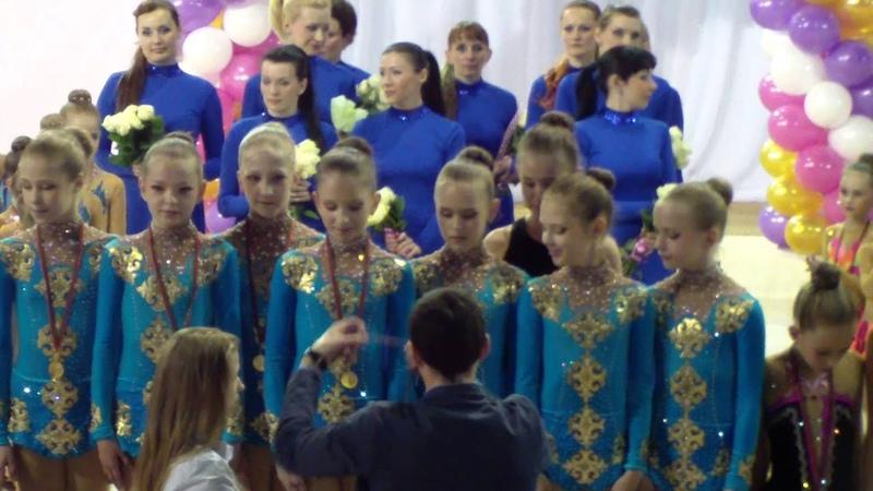 Награждение кат 10 12 лет Всебелорусский турнир 2015