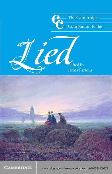 The Cambridge Companion to the Lied (Cambridge Companions to Music) by James Parsons