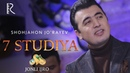 Shohjahon Jorayev - Jonli ijro 7 Studiya - Milliy TV