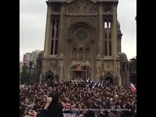 A chilean orchestra gave an open-air performance of el pueblo unido, jamás será vencido| history porn