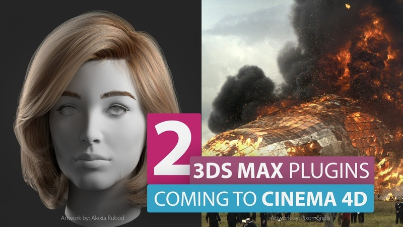These Two Amazing 3ds Max Plugins are coming to Cinema 4d...