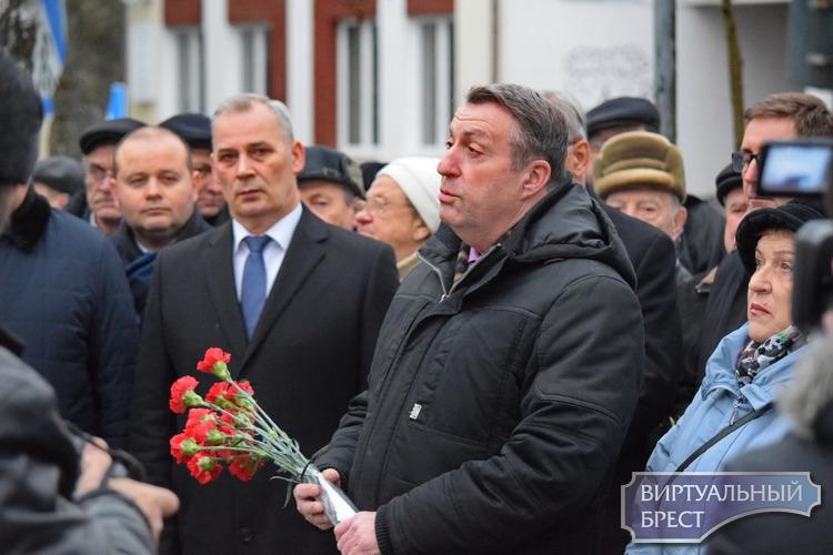 В Бресте сегодня почтили память жертв холокоста
