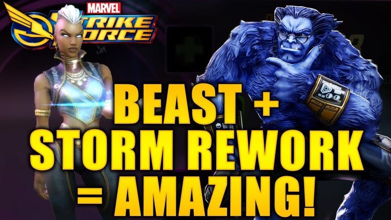 Beast Storm REWORK = Amazing - MARVEL Strike Force - MSF