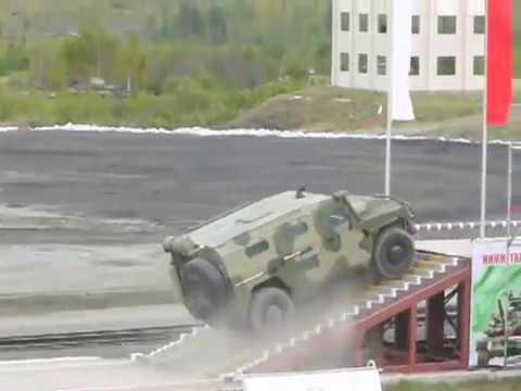 ГАЗ-233014 Тигр vs IVECO 65E19WM Рысь на Российской выставке вооружений-2011 в Нижнем Тагиле