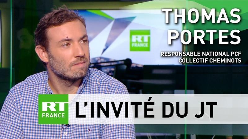 Thomas Portes : La politique qui est men e c est la politique du pr sident des riches