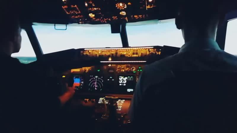 Мой первый полет на тренажере 737NG