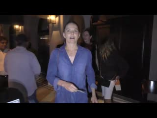 Jennifer morrison joins friends for dinner at craigs restaurant in west hollywood