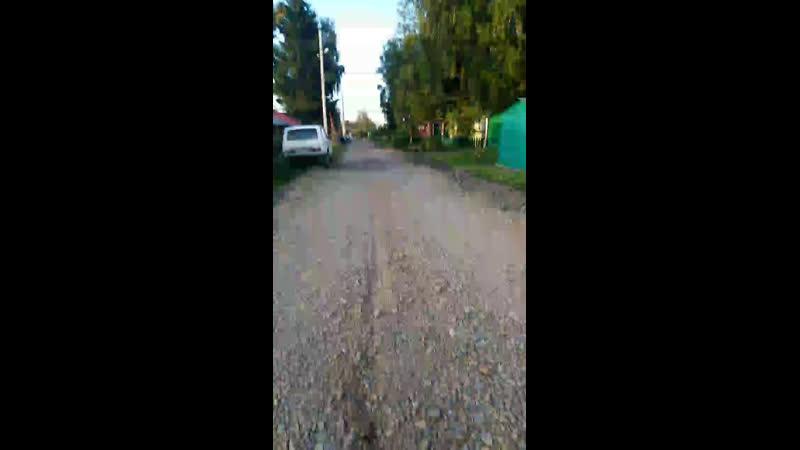 Как выполняется наказ депутатов по отсыпке улиц, ул. Макетная Дзержинский район г. Новосибирск