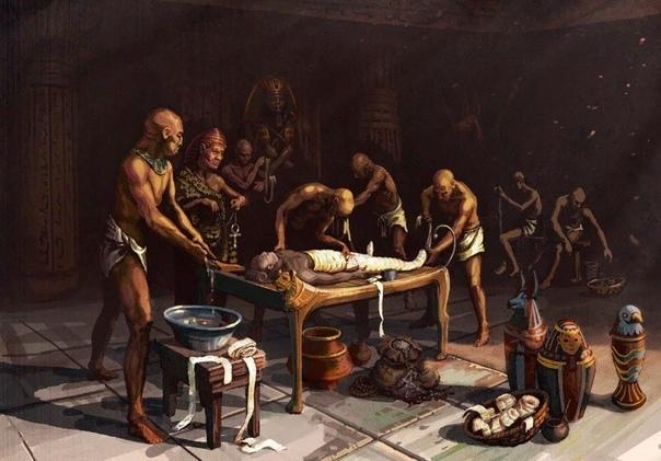 Дела египетские Кто последний на бальзамирование За Рамзесом еще двое занимали, вы за ними будете. А мне только бинты поменять! Всем только бинты поменять. Не знаете, саркофаг свой приносить