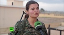 Курдские женщины сражаются против боевиков ИГ наравне с мужчинами 2015 г.