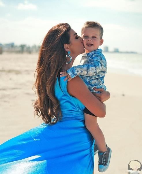 Анна Седакова поздравила сына Гектора с Днем Рождения