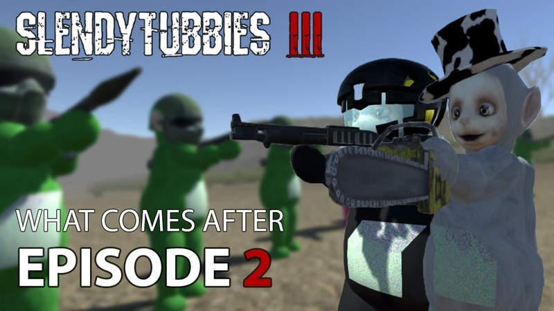 Slendytubbies 3 Mini-Series What Comes After - Part 2