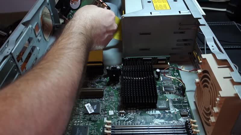 Реанимируем Compaq Deskpro 2000 (Pentium 200MMX)