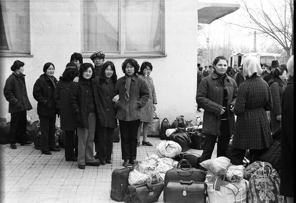 На сакман. КГУ. 1974 год.  Калмыкия-online.ру