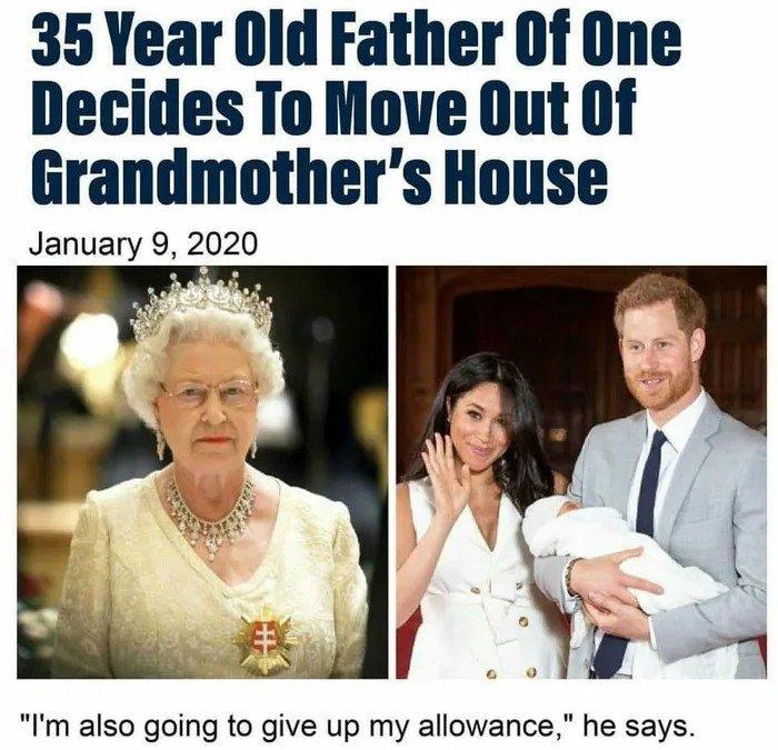Почему об этом пишут все газеты?! Всего лишь 35-тилетний внук решил съехать из бабушкиного дома!