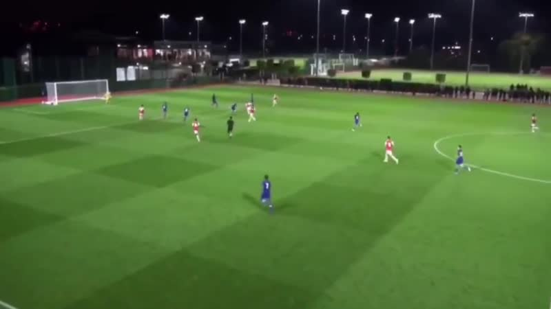 Here are the Arsenal goals from the u16s' 3 2 win over Chelsea last night Malcolm Ebiowei Khayon Edwards and Omari Hutchinson