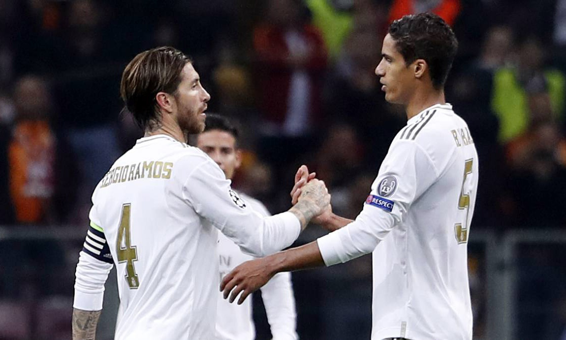 Серхио Рамос и Рафаэль Варан. ФК Реал Мадрид